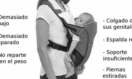 Baby Björn y compañía: las mochilas <i>colgonas</i> portabebés