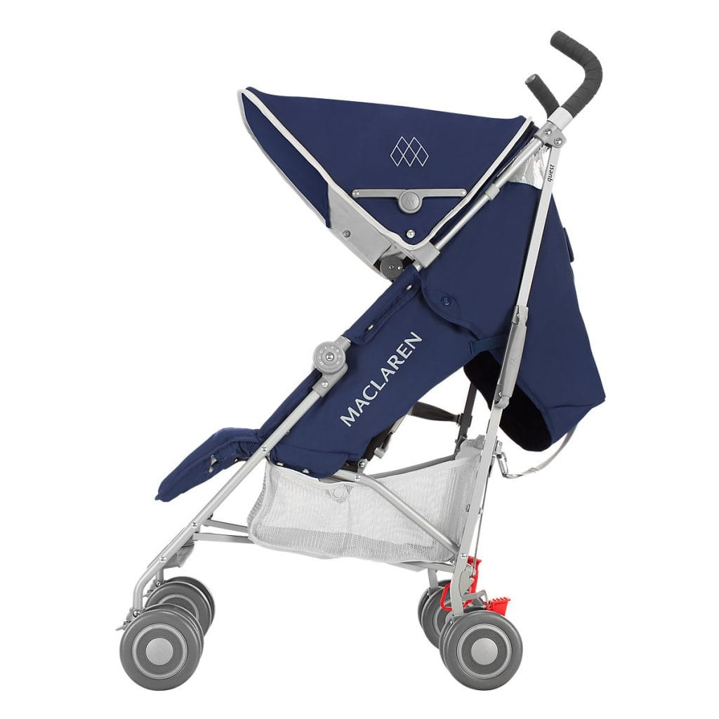 Silla MacLaren Quest vista lateral