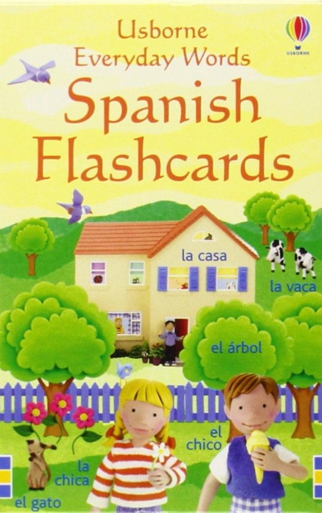 Everyday Spanish Flashcards Usborne