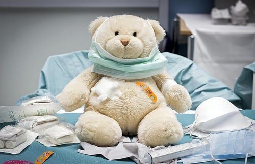 Osito en el Hospital