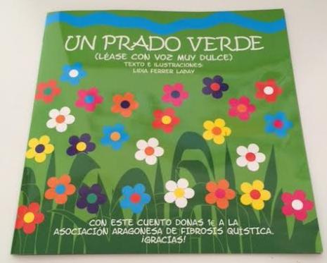 """""""Un prado verde"""", un cuento solidario por la Fibrosis Quística"""
