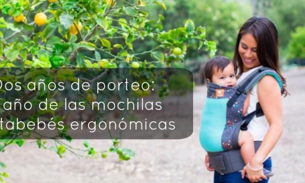 Dos años de porteo: el año de las mochilas portabebés ergonómicas