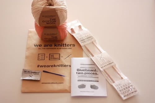 Presentación mini WAK kit We Are Knitters