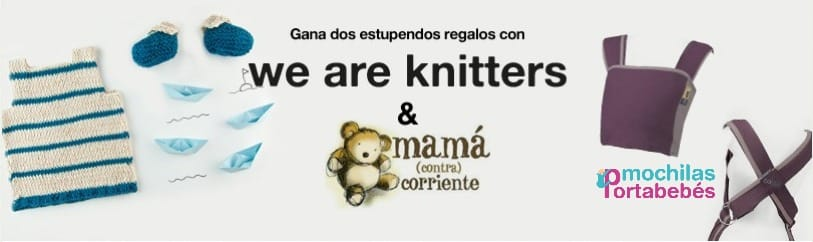 Sorteo We Are Knitters y Mochilas-Portabebés.es