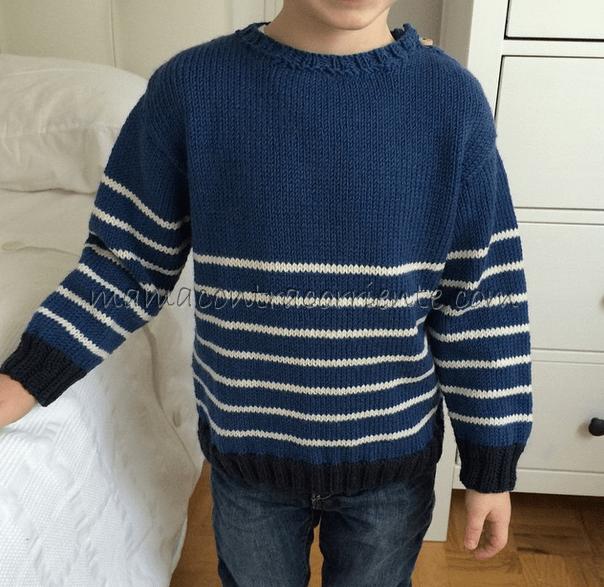 Jersey tejido a dos agujas mamacontracorriente
