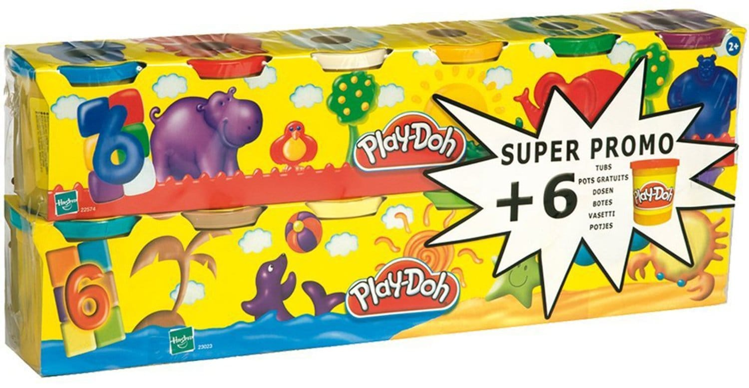 Pack plastilina Play Doh