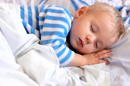 Toddler durmiendo