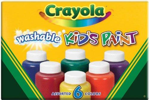 Pintura lavable Crayola