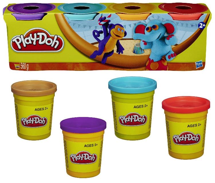 Plastilina Play Doh Pack 4 botes