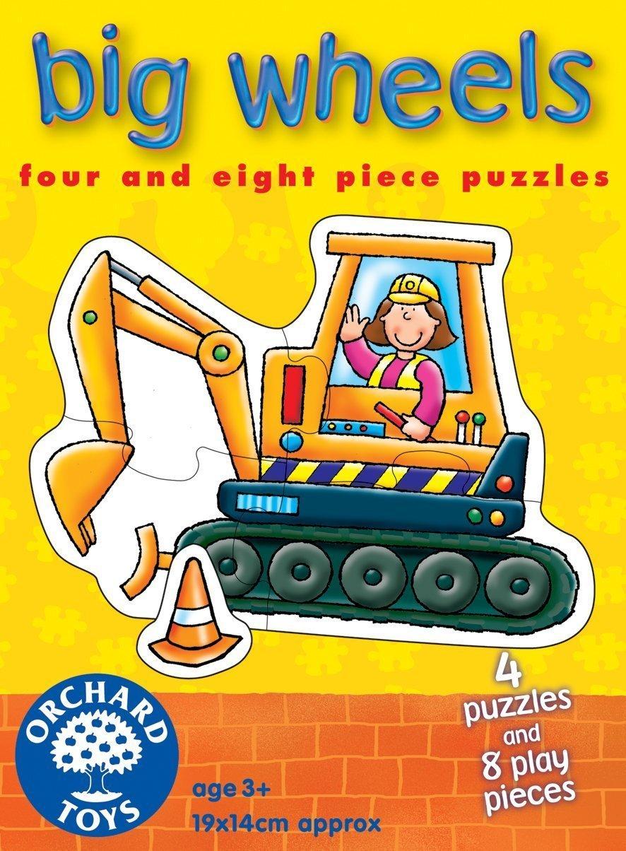 Puzzle Vehículos de construcción Orchard Toys