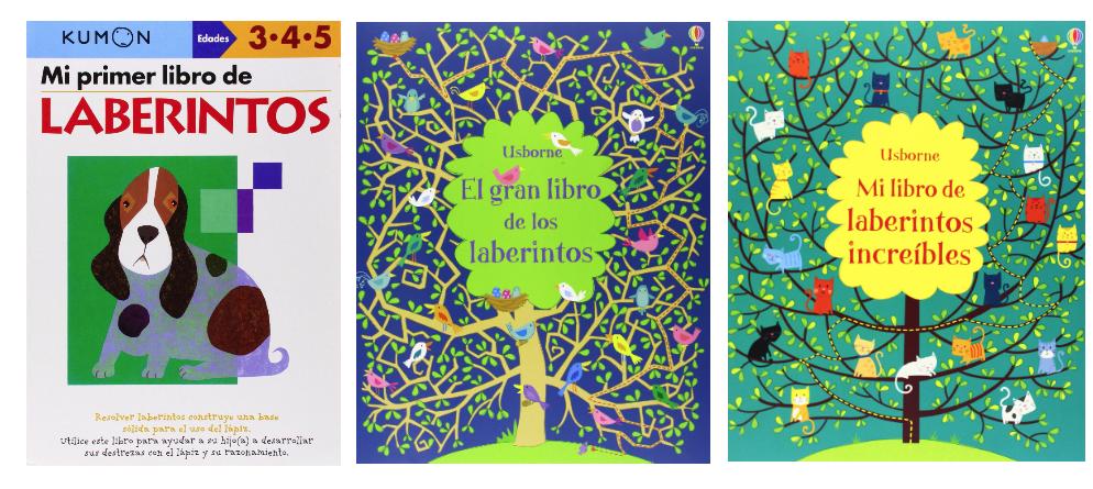Libros de laberintos para niños