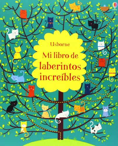 Mi libro de laberintos increíbles, editorial Usborne