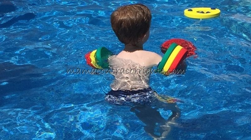 139964195fe Manguitos de natación para niños Delphin | Mamá (contra) corriente