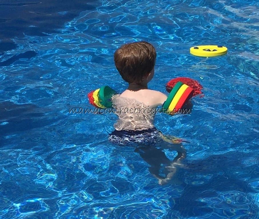 Manguitos de natación para niños Delphin: nuestra experiencia con ellos