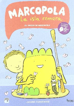 Marcopola La Isla Remera, Cómics Mamut