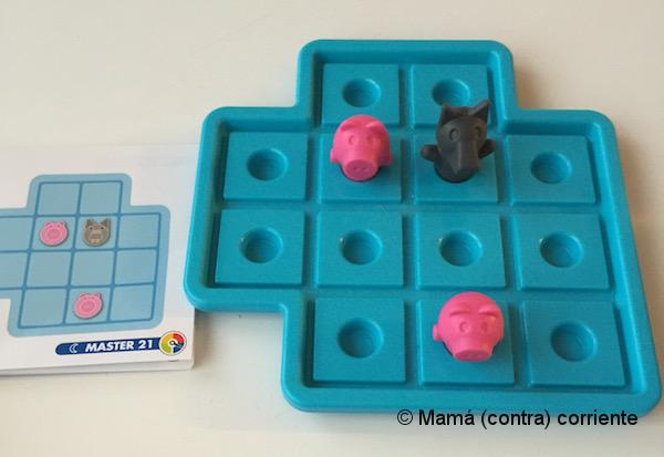 Los Tres Cerditos, Smart Games (reto 21)