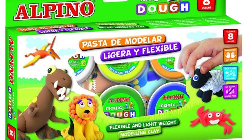 Pasta moldear Alpino Magic Dough