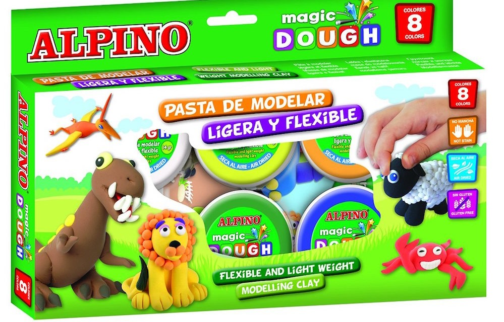 Pasta de moldear Alpino Magic Dough
