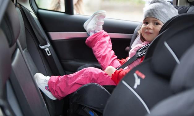 Las sillas de coche a contramarcha son la opción más segura para nuestros hijos