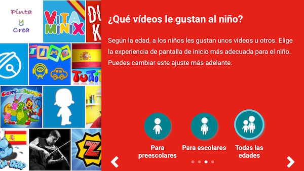 Configuración YouTube Kids