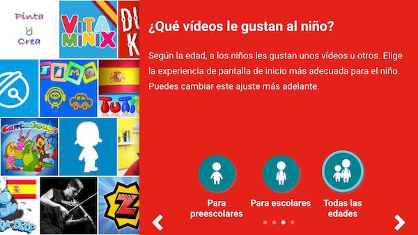 Configuración YouTube Kids