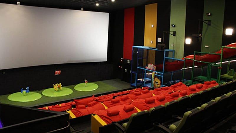 Sala Junior Yelmo Cines detalle de la zona de juegos