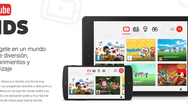 YouTube Kids banner