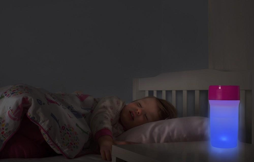 Litecup: vaso antigoteo con luz led ¡Se acabó el miedo a la oscuridad!
