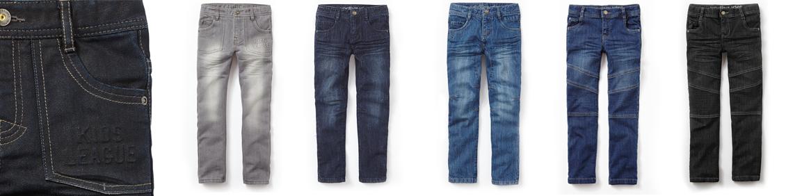 Pantalones Morphologik Vertbaudet niños delgados