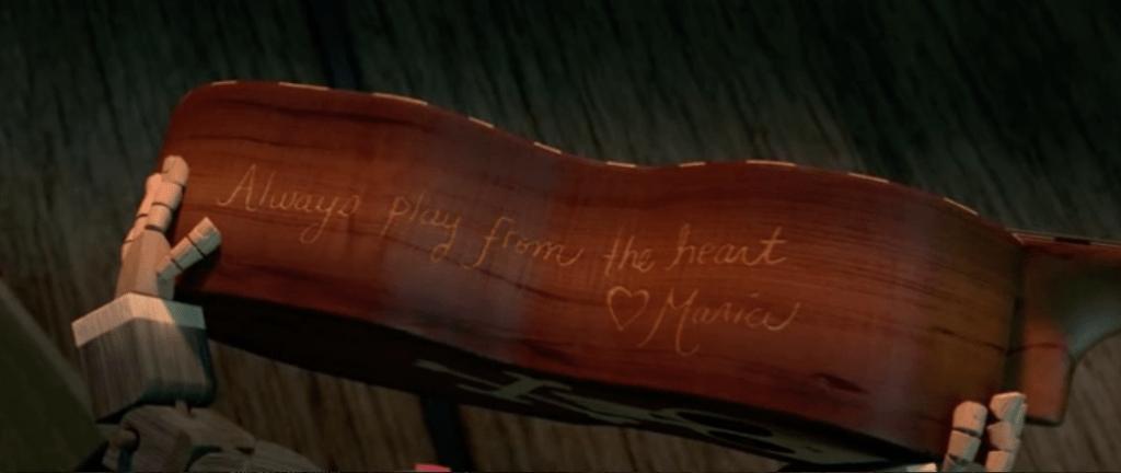 """El Libro de la Vida - Guitarra """"Always play from the heart"""""""