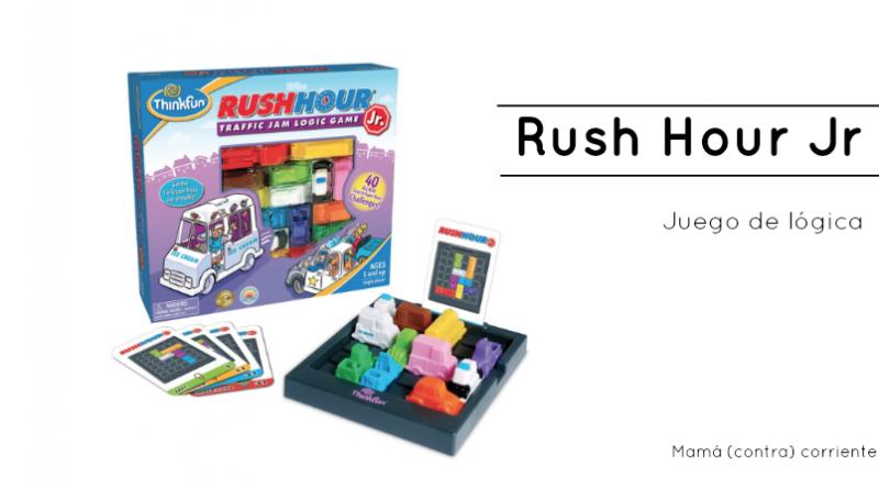 Rush Hour Jr - Reseña del juego de atascos de coches