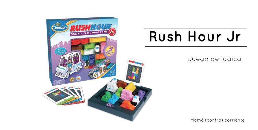 Rush Hour Jr: el juego de lógica para resolver un atasco de coches