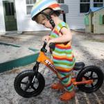 Bicicletas sin pedales para niños: nuestra experiencia