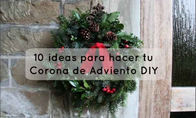 10 ideas para hacer tu Corona de Adviento DIY