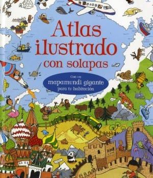 Atlas ilustrado con solapas – Usborne