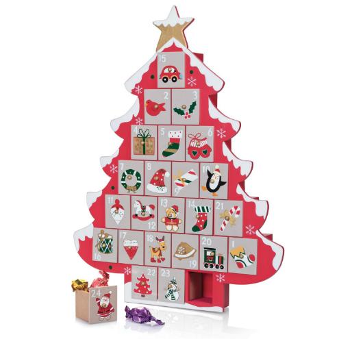Calendario Adviento Árbol de Navidad cajitas