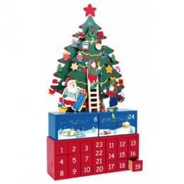 Calendario Adviento Cajitas Árbol
