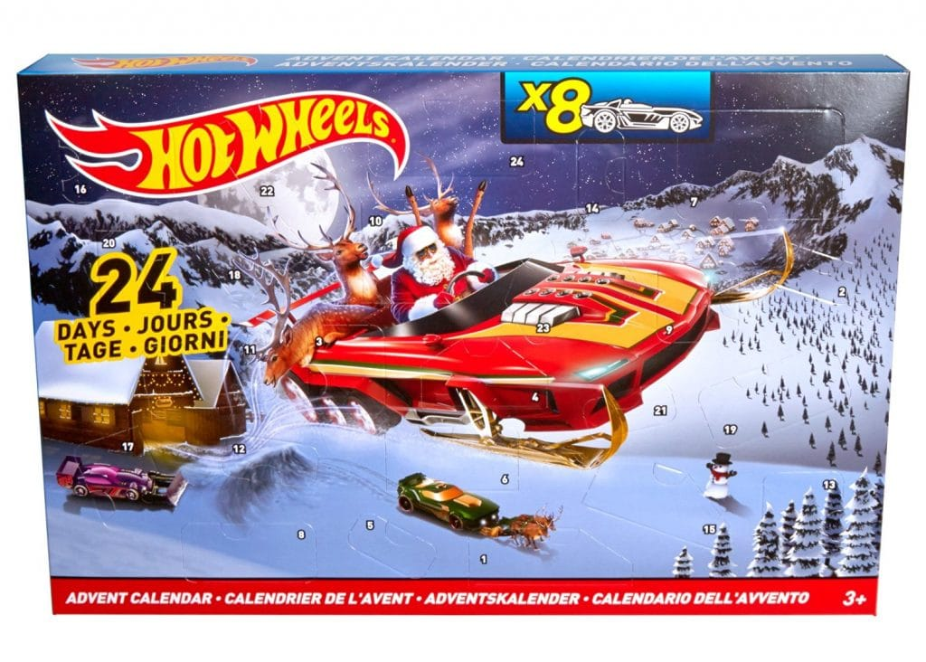Calendario de Adviento de Hot Wheels