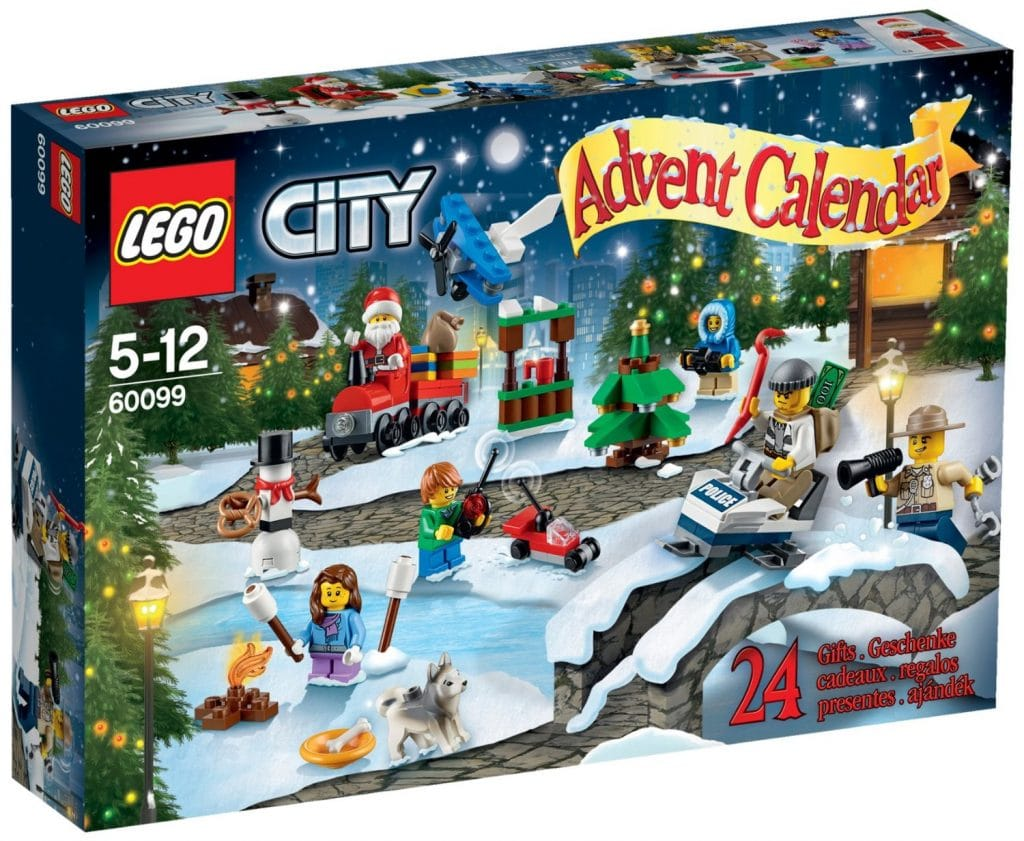 Calendario de Adviento Lego City ref 60099
