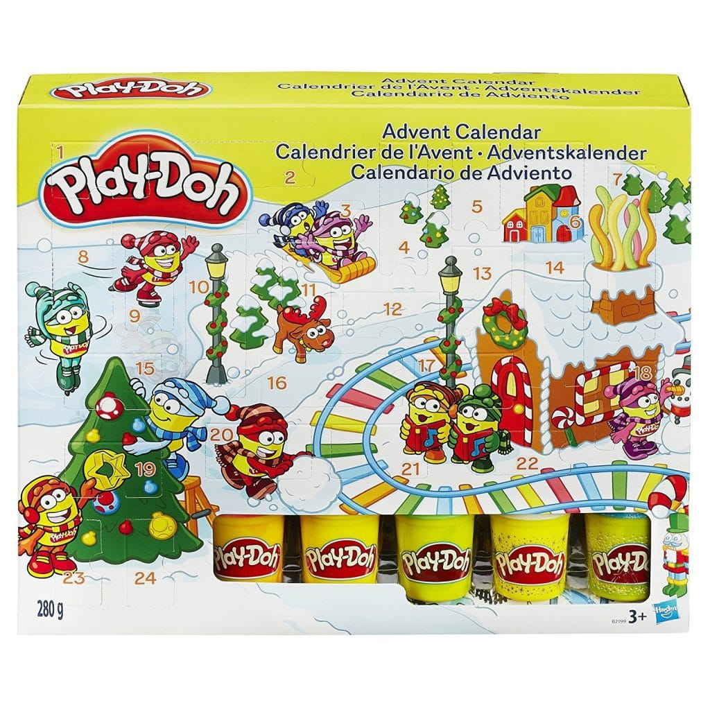 Calendario Adviento PlayDoh