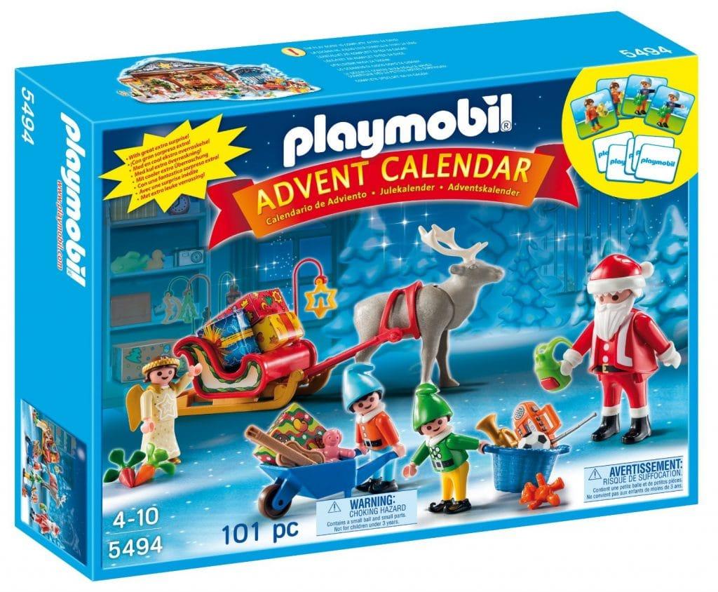 "Calendario Adviento Playmobil ""Papá Noel Centro de Embalaje"""