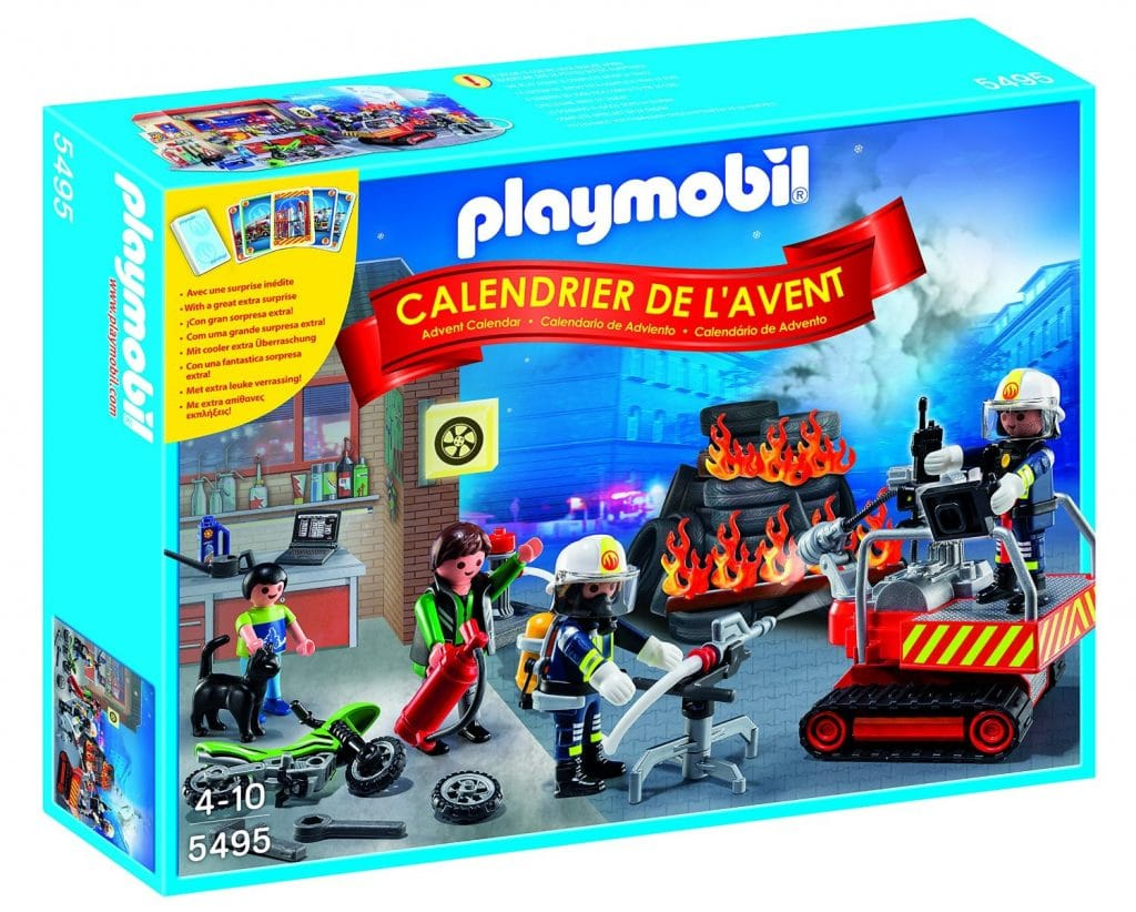 "Calendario de Adviento Playmobil ""Bomberos"""