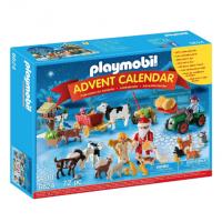 Calendario de Adviento de Playmobil Granja de Navidad