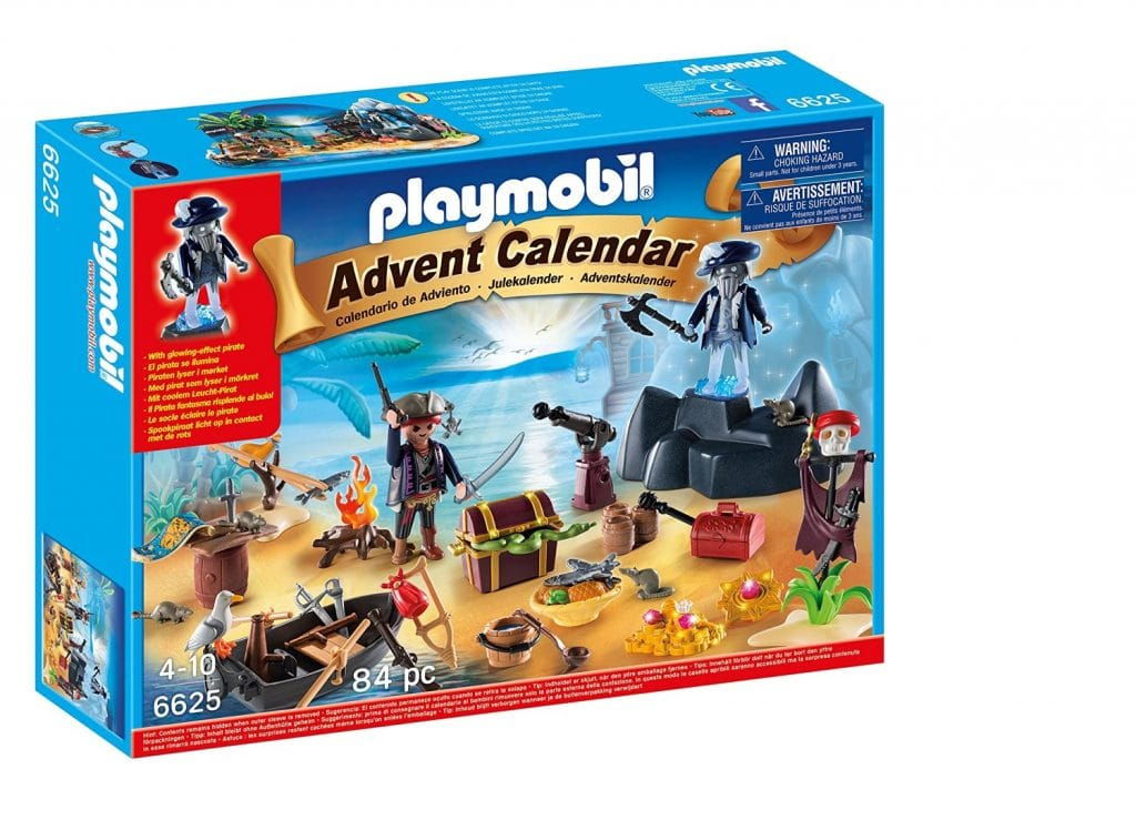 "Calendario de Adviento de Playmobil ""Piratas"""