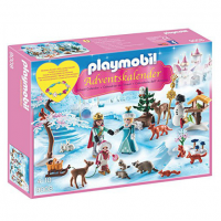 Calendario de Adviento de Playmobil Princesa y Príncipe del Bosque