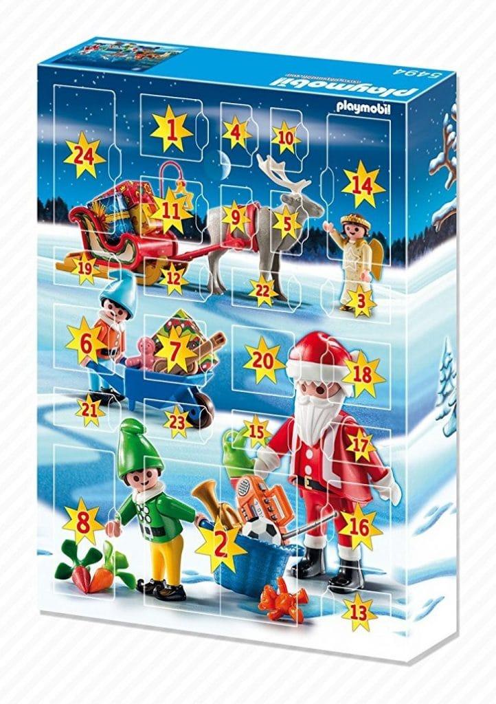 Calendario de Adviento de Playmobil - detalle de las ventanitas