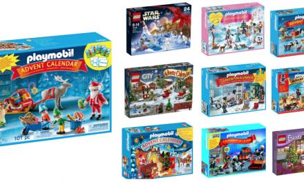 Calendarios de Adviento de Playmobil y Lego   Navidad 2016