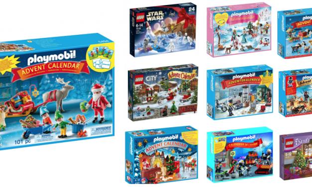 Calendarios de Adviento de Playmobil y Lego | Navidad 2016