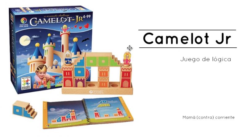Camelot Jr Juego de Lógica espacial ¡Reúne al Caballero y la Princesa!
