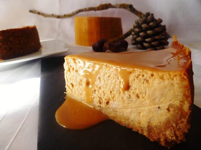 Cheesecake de calabaza receta para hacer con niños